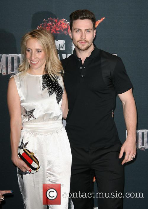 Director Sam Taylor-wood and Aaron Taylor-johnson 2