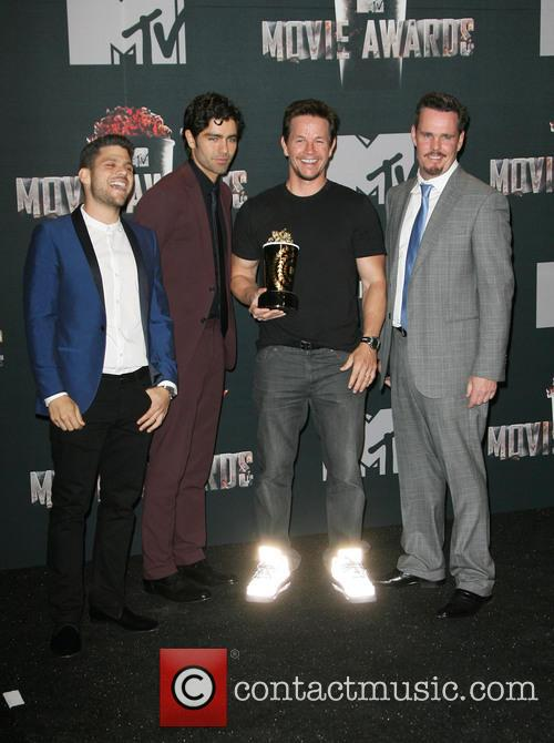 Jerry Ferrara, Adrian Grenier, Mark Wahlberg and Kevin Dillon 2
