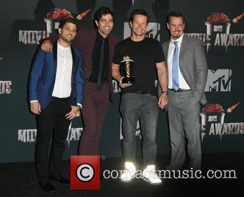 Jerry Ferrara, Adrian Grenier, Mark Wahlberg and Kevin Dillon 1