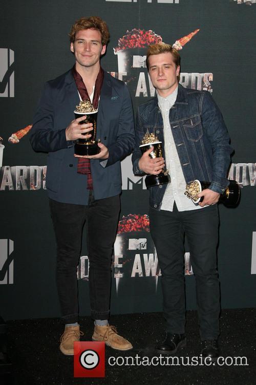 Sam Claflin and Josh Hutcherson 2