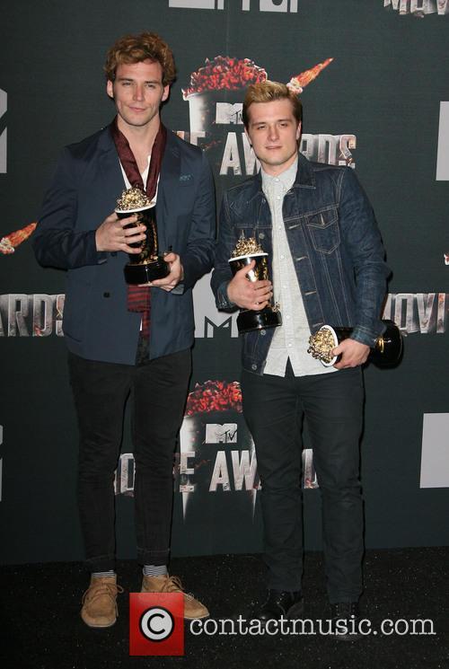 Sam Claflin and Josh Hutcherson 1