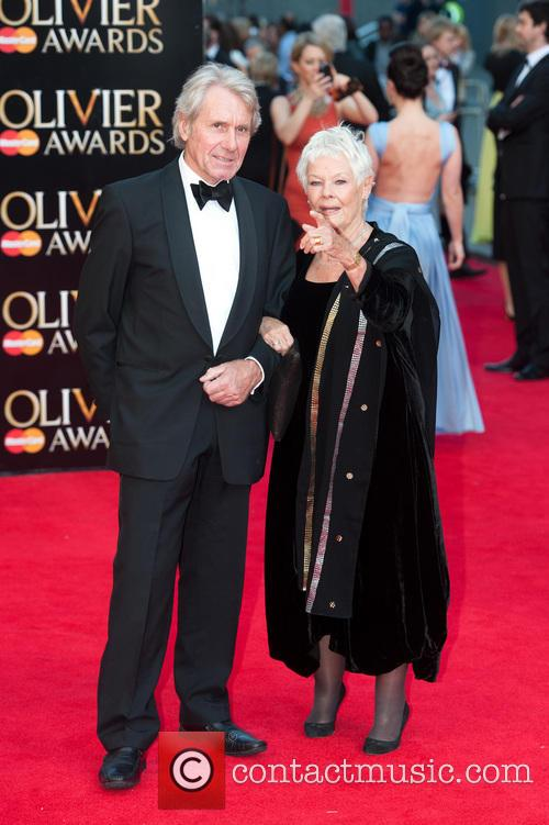 Dame Judi Dench and David Mills 4