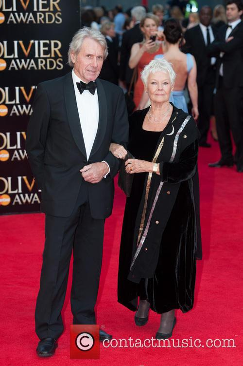 Dame Judi Dench and David Mills 5
