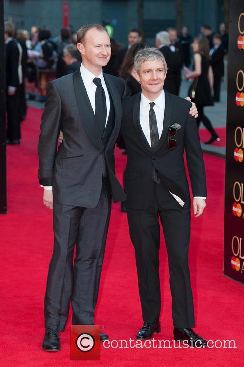 Mark Gatiss and Martin Freeman 2