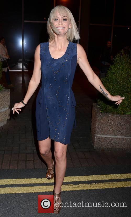Sarah Harding at The Saturday Night Show