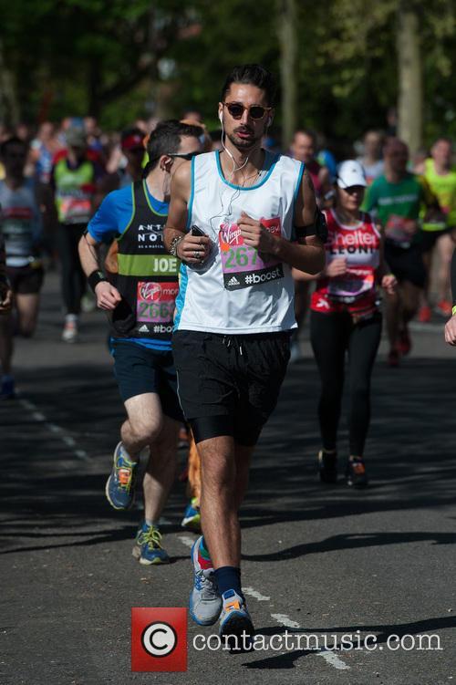 hugo taylor virgin london marathon celebrities 4153189