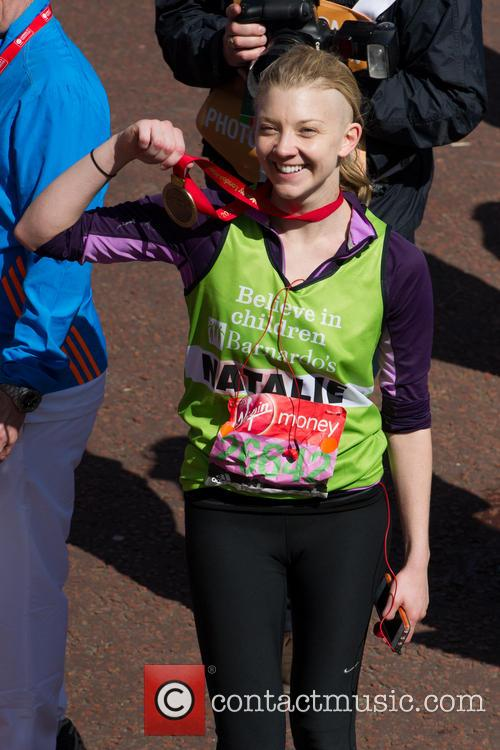natalie dormer virgin money london marathon 4154125