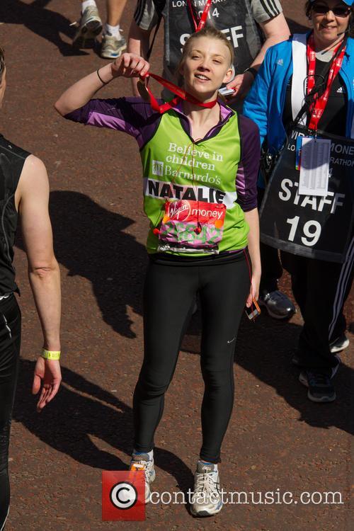 natalie dormer virgin money london marathon 4154143
