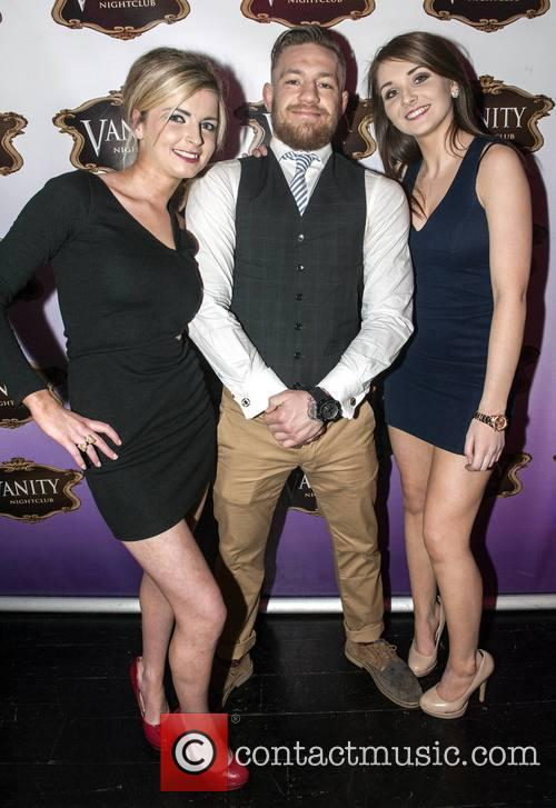 Conor McGregor Parties at Vanity Nightclub
