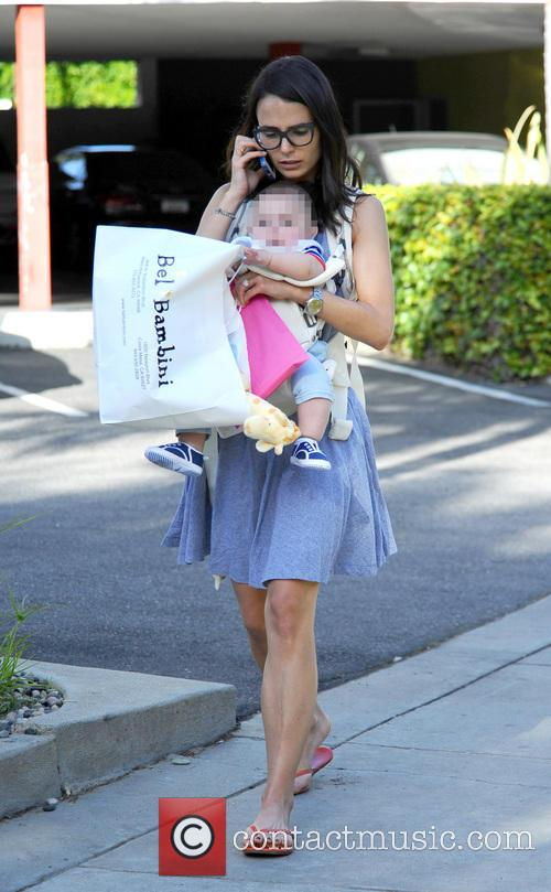 Jordana Brewster Out With Her Son