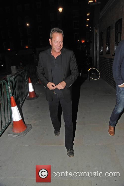 Kiefer Sutherland, London