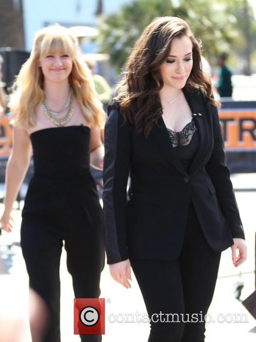Kat Dennings and Beth Behrs 4
