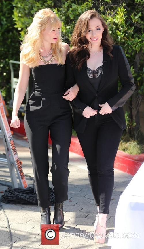 Kat Dennings and Beth Behrs 5