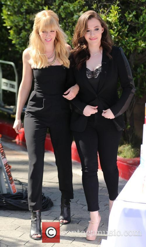 Kat Dennings and Beth Behrs 11