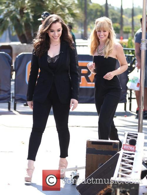 Kat Dennings and Beth Behrs 1