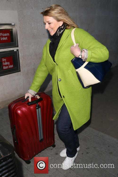 Celebrities leave 'The One Show' studios