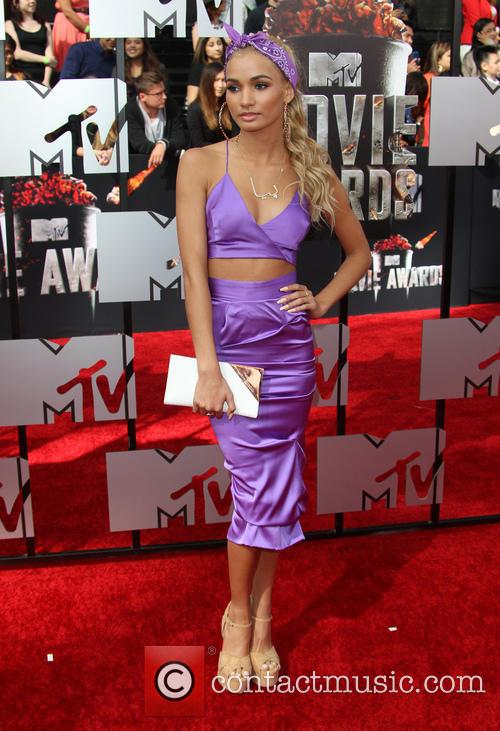 Pia Mia and Mtv 7