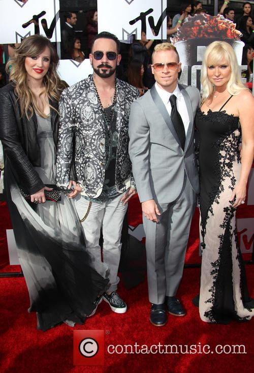 Aj Mclean, Rochelle Karidis, Brain Littrell and Leighanne Wallace 2