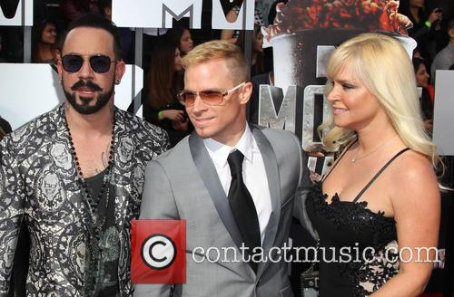 Aj Mclean, Rochelle Karidis, Brain Littrell and Leighanne Wallace 3