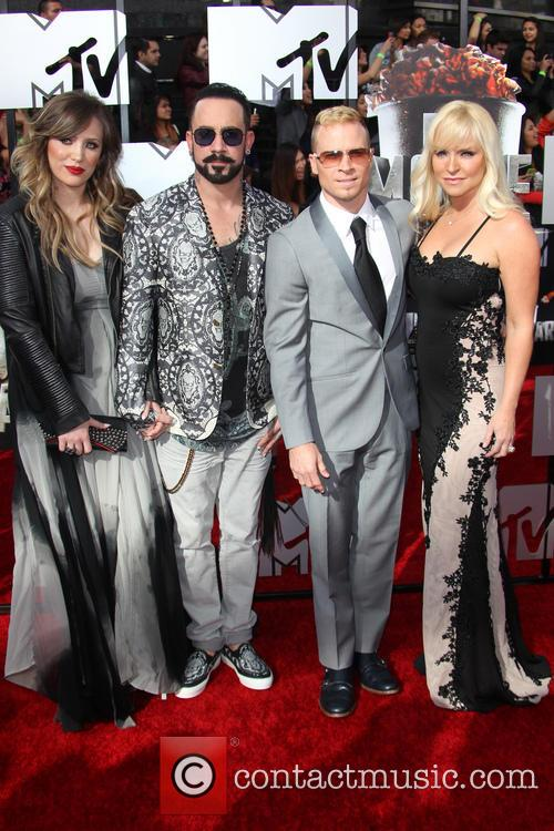 Aj Mclean, Rochelle Karidis, Brain Littrell and Leighanne Wallace 4