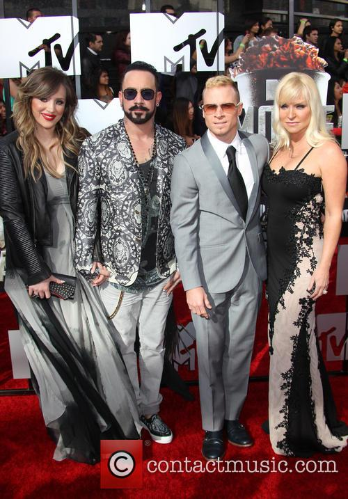 Aj Mclean, Rochelle Karidis, Brain Littrell and Leighanne Wallace 5