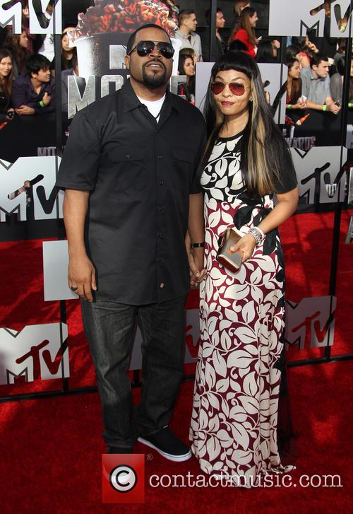 Ice Cube and Kimberly Woodruff 2
