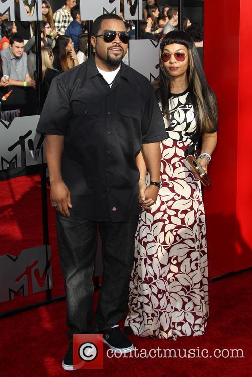 Ice Cube and Kimberly Woodruff 5