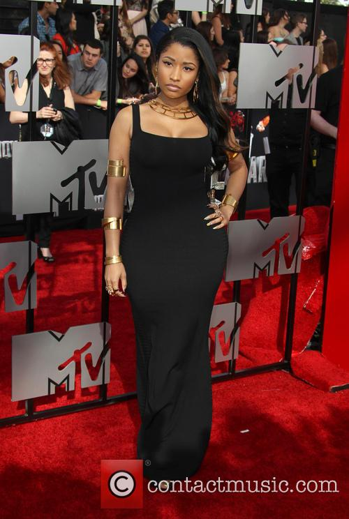 Nicki Minaj at the MTV Movie Awards