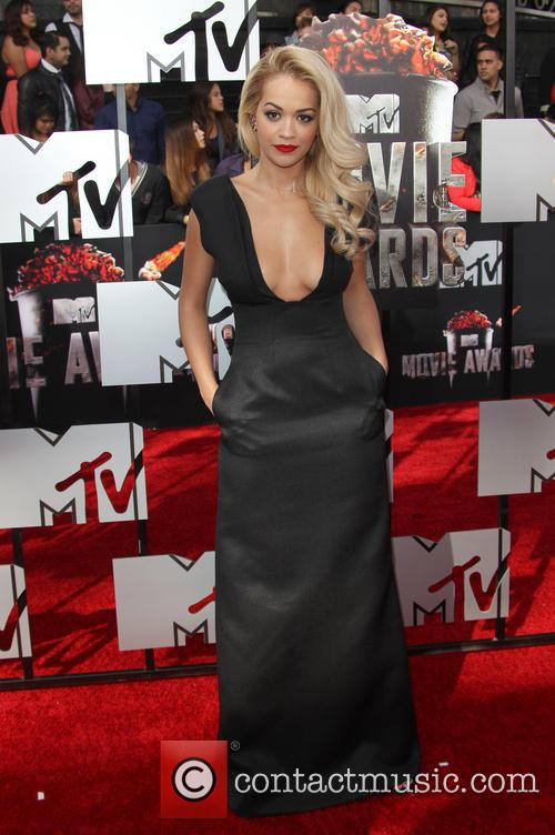 Rita Ora at the MTV Movie Awards