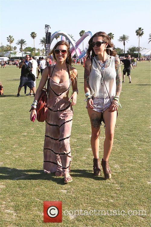 Audrina Patridge enjoys Day 3 of Coachella with...