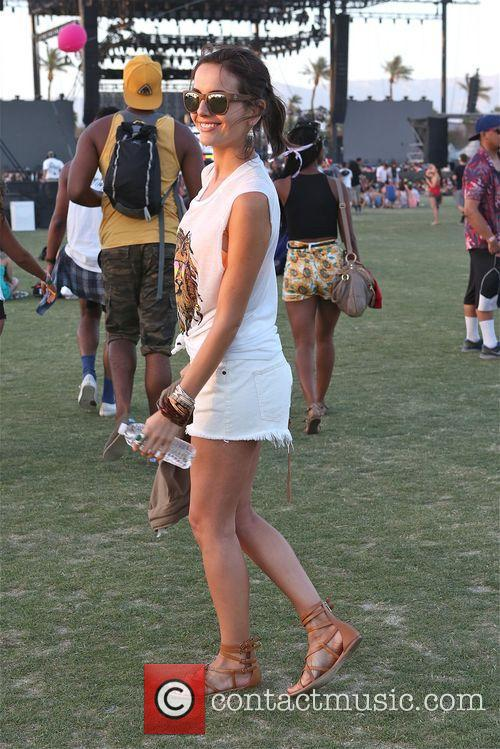 Camille Belle Enjoys Day 3 Coachella