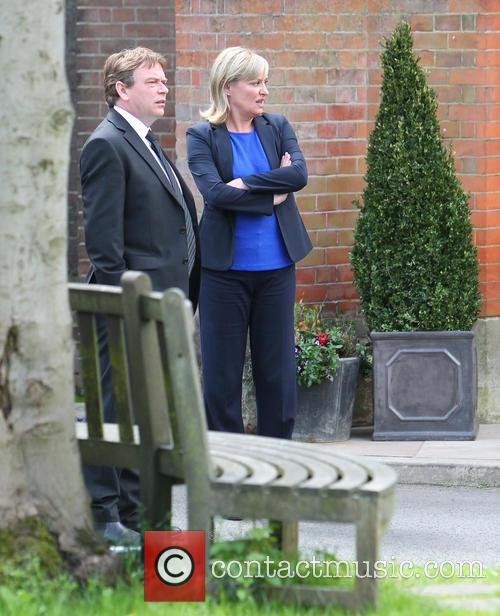 Adam Woodyatt and Laurie Brett 8