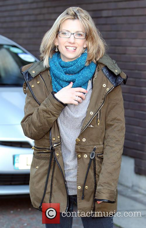 claire goose - celebrities at the itv studios | 4 pictures