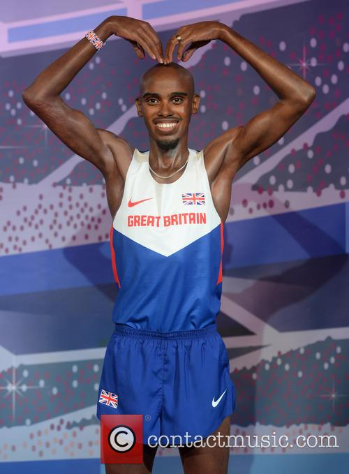 Mo Farah's waxworks unveiled at Madame Tussauds