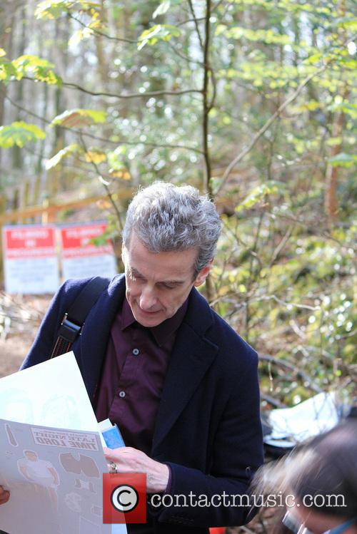 peter capaldi dr who filming on location 4156791