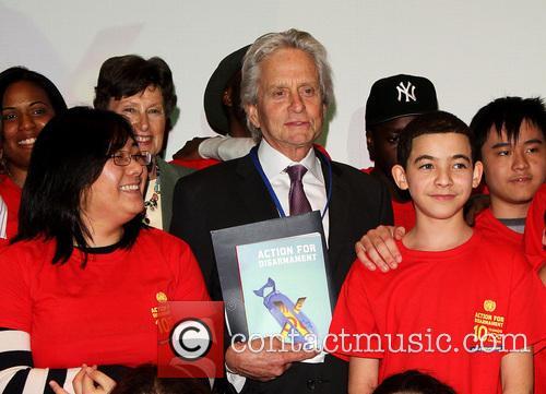 michael douglas michael douglas book launch at 4157608