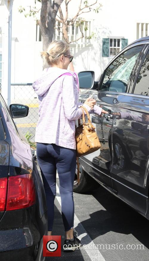 Naomi Watts leaving the gym
