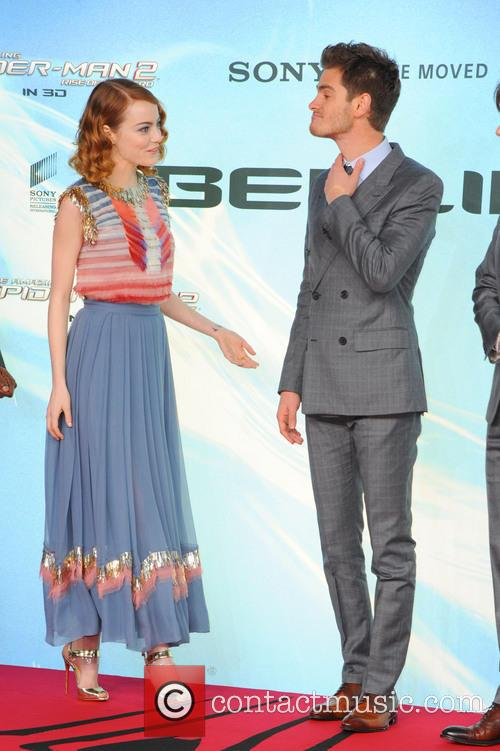 Emma Stone and Andrew Garfield 2
