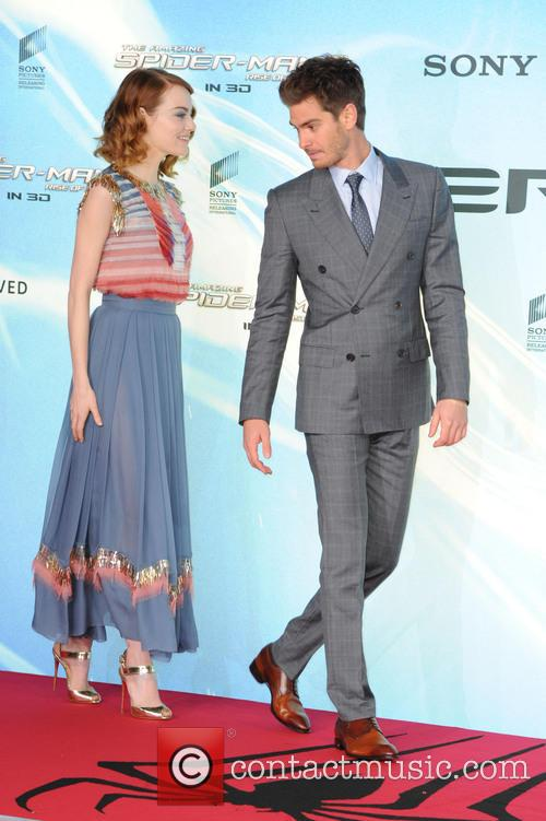 Emma Stone and Andrew Garfield 8