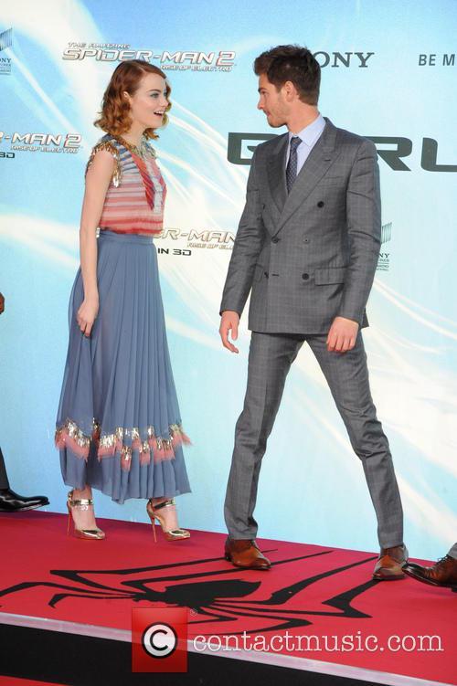 Emma Stone, Andrew Garfield, Sony Center