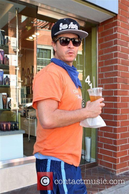 Pauly Shore out and about