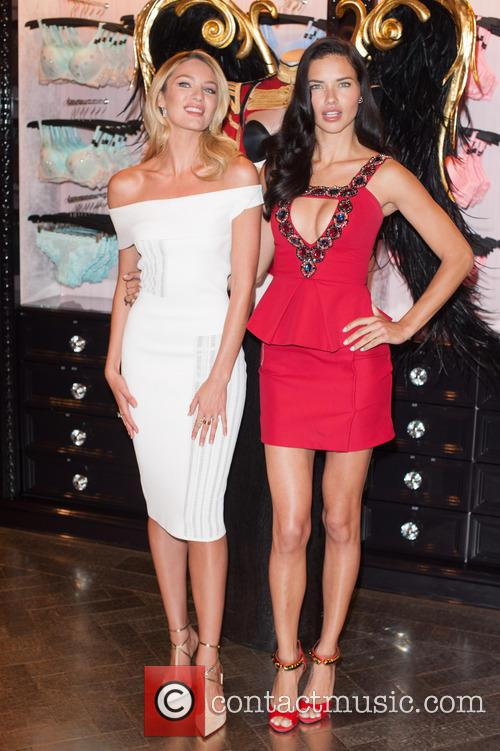 Candice Swanepoel and Adriana Lima 1
