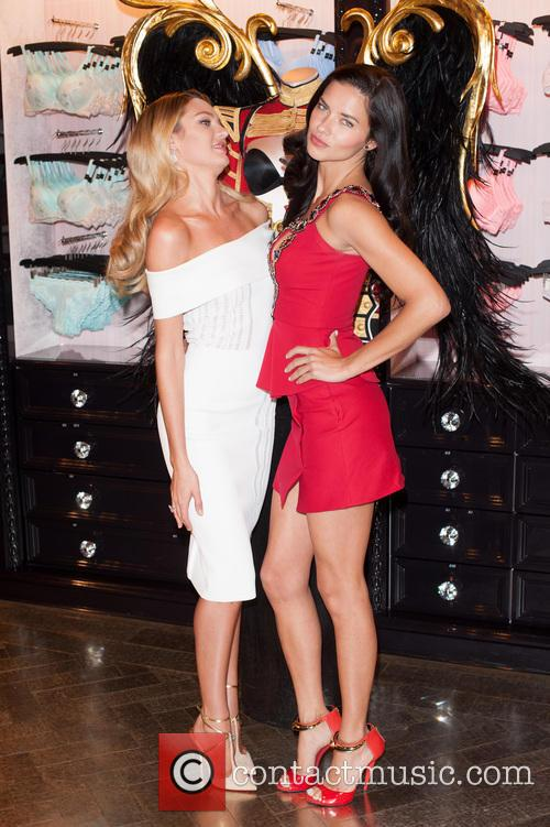 Candice Swanepoel and Adriana Lima 5