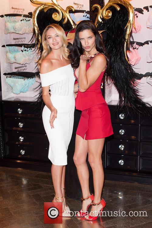 Candice Swanepoel and Adriana Lima 6
