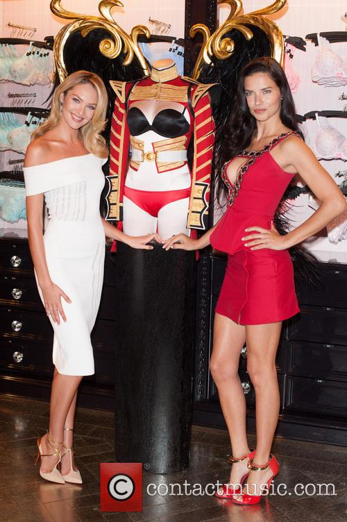 Candice Swanepoel and Adriana Lima 7