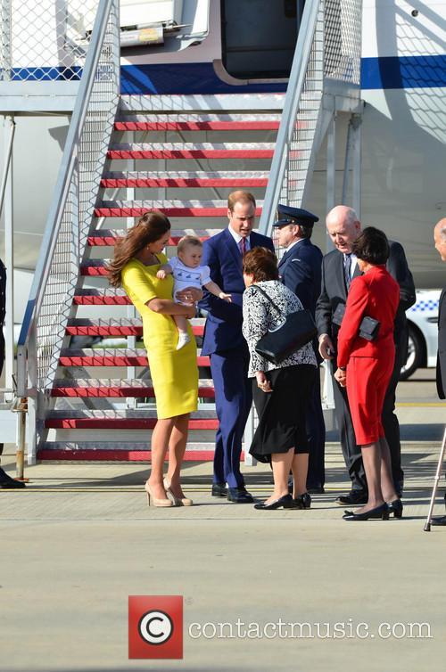 Catherine, Duchess Of Cambridge, Prince William, Duke Of Cambridge and Prince George Of Cambridge 2
