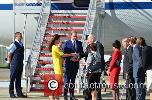 Catherine, Duchess Of Cambridge, Prince William, Duke Of Cambridge and Prince George Of Cambridge 3