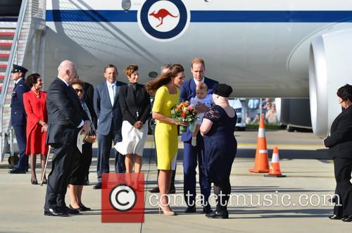 Catherine, Duchess Of Cambridge, Prince William, Duke Of Cambridge and Prince George Of Cambridge 4