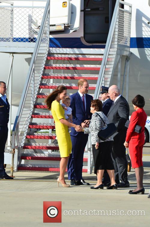Catherine, Duchess Of Cambridge, Prince William, Duke Of Cambridge and Prince George Of Cambridge 5