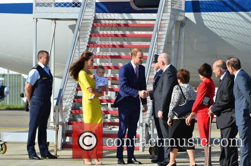 Catherine, Duchess Of Cambridge, Prince William, Duke Of Cambridge and Prince George Of Cambridge 6